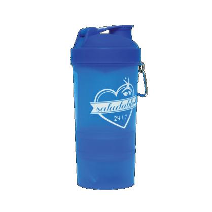 Termo Agitador Azul <br>$200.00